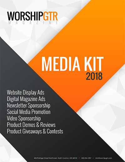 Worship Guitar Magazine 2018 Media Kit