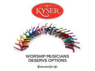 Kyser Capo Choices (SB4)