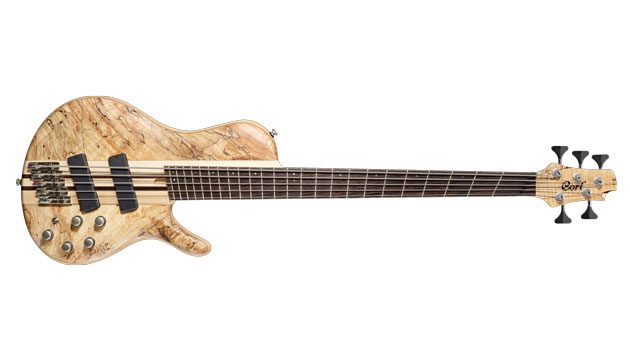 Cort Introduces the 5-string A5 Plus SCFF Bass