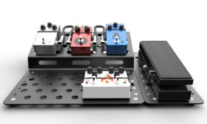 Holey Boards Zig Zag Pedalboard