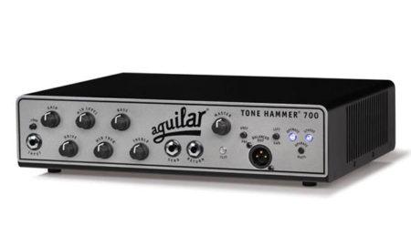 Aguilar Amplification Announces the Tone Hammer 700 Super Light Amplifier
