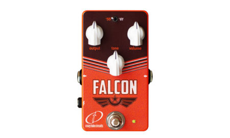 Crazy Tube Circuits Releases the Falcon Overdrive