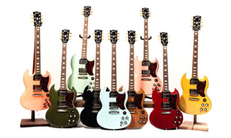 Chicago Music Exchange Collaborates with Gibson for Exclusive SG Standards