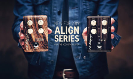 L.R. Baggs Expands Align Series with Chorus and Delay Pedals