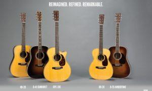 Martin Guitar to Introduce Reimagined Standard Series Guitars at 2018 Winter NAMM