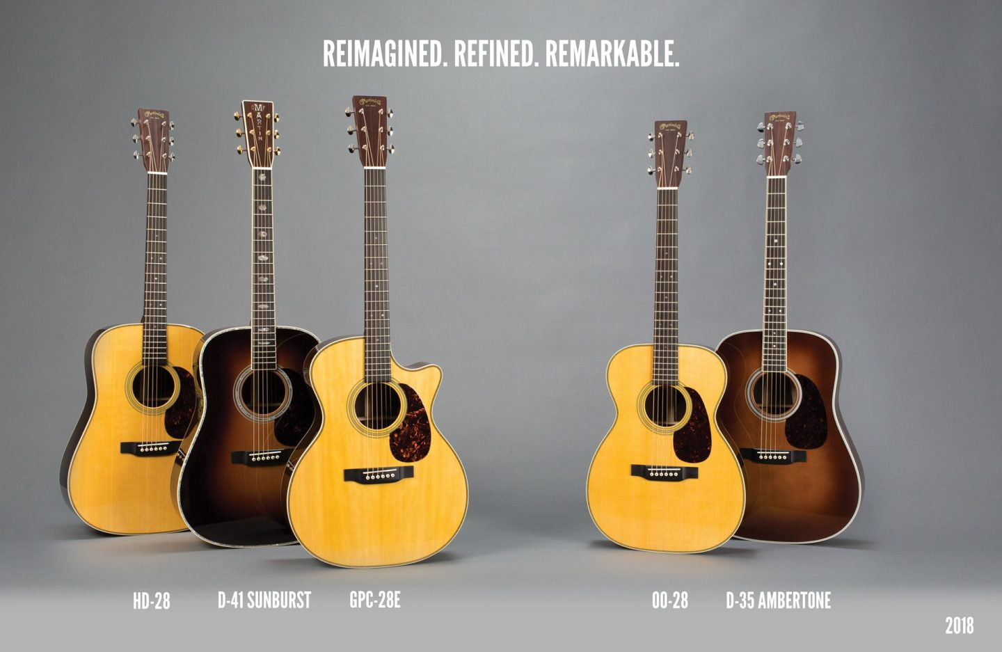 Martin Guitar to Introduce Reimagined Standard Series Guitars at 2018 Winter NAMM