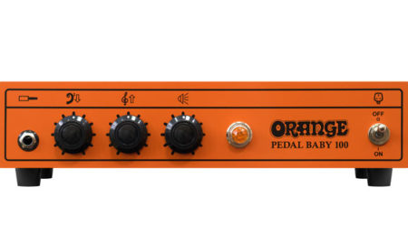 Orange Amplification Unveils the Pedal Baby 100