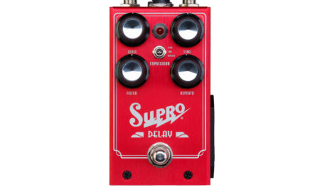 Supro Announces New Delay Pedal